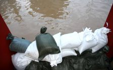 Sandbags to stop flood. (Photo courtesy of © CanStockPhoto.com/ChiccoDodiFC)