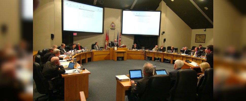 Chatham-Kent Council holds a meeting on March 9 2015 (Photo by Jake Kislinsky).