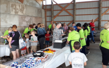 Breakfast on the Farm, at Jobin Farms in Tecumseh on June 22, 2019. (Photo by Mark Brown/Blackburn News)