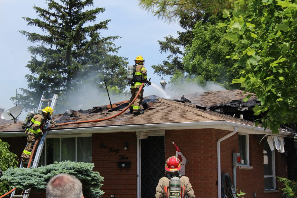 House Fire on O'Neil Street