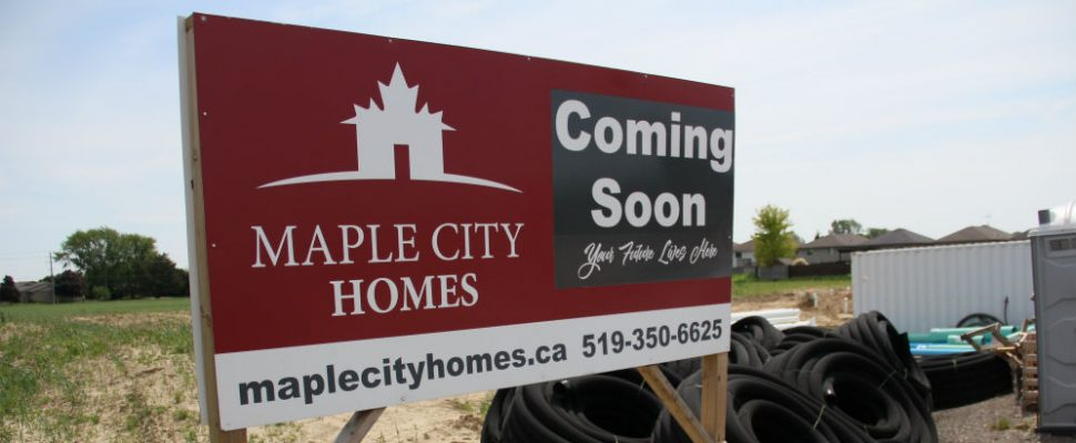 Maple City Homes is in the midst of a housing development, they said will see a total of 380 more units in the municipality in the next five-years.