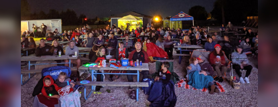 Sarnia's Valley Axe hosting a Toronto Raptors viewing party for Game 5 of the NBA Finals. June 10, 2019. (Photo by Valley Axe)