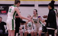 Chatham basketball player Maggie Denys has committed to playing OUA basketball with the Windsor Lancers, this fall. (Photo sourced from Maggie Denys YouTube)