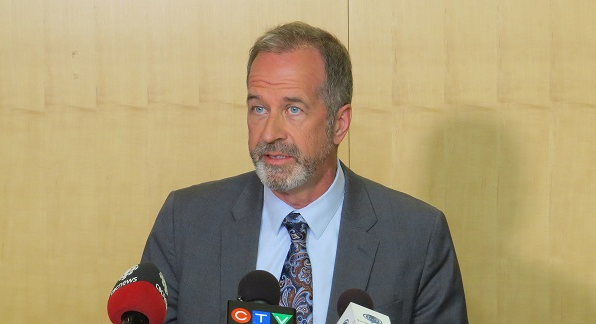 LHSC President and CEO Dr. Paul Woods. (File photo by Miranda Chant, Blackburn News)