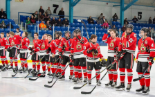 Sarnia Legionnaires at Sarnia Arena. February 15, 2019. (Photo by Shawna Lavoie)