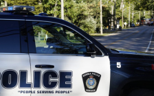 A Sarnia Police SUV. October 16, 2018. (Photo by Colin Gowdy, BlackburnNews)