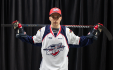 Pasquale Zito of the Windsor Spitfires. Photo provided by Windsor Spitfires.