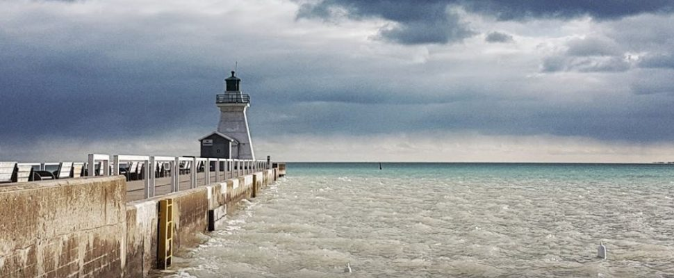 The lighthouse in Port Dover. (Photo courtesy of Google Maps)