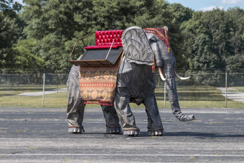 mechanical elephant