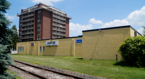 The site of a new 19-storey high-rise in Sarnia at 135 Water Street. July 10, 2019. (BlackburnNews photo by Colin Gowdy)