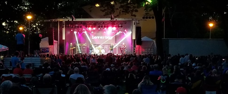 Loverboy on Sunday, June 30, 2019 at Tecumseh Park in Chatham during the Festival of Nations event. (Photo by Cheryl Johnstone)