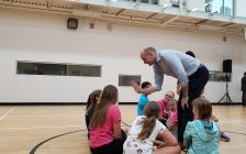 The Minister of Families, Children and Social Developement, Jean-Yves Duclos announced an increase to the Canada Child Benefit on Wednesday at the Chatham-Kent YMCA (Photo by Michael Hugall)