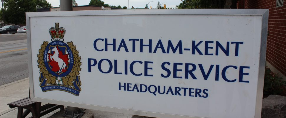 Chatham-Kent police headquarters (Photo by Allanah Wills)