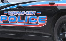 Chatham-Kent Police cruiser (Photo by Allanah Wills)