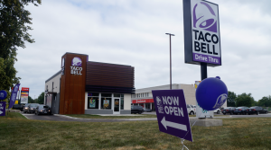 A Taco Bell on Indian Road in Sarnia. July 12, 2019. (BlackburnNews photo by Colin Gowdy)