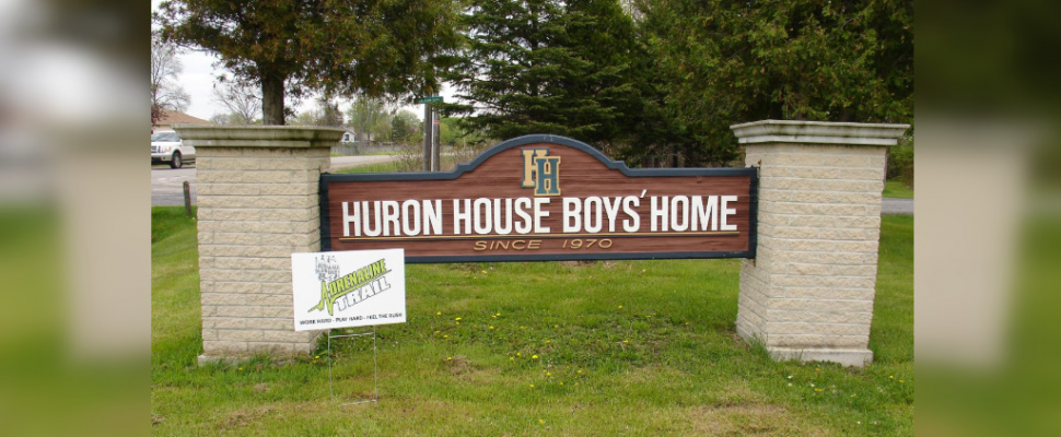 Huron House Boys' Home at 2473 Lakeshore Road. May 20, 2015. (Photo by Huron House Boys' Home)