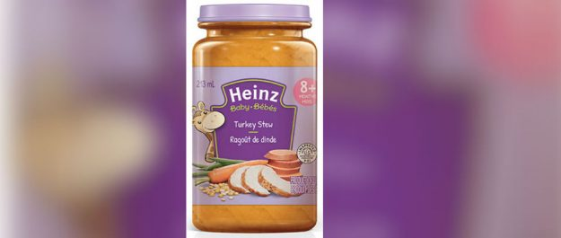 Recalled baby food (Via inspection.gc.ca)