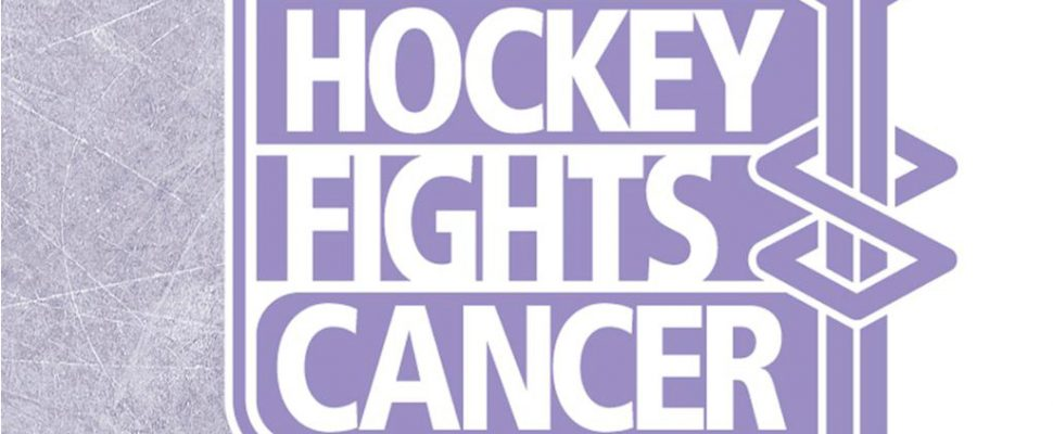 Hockey Fights Cancer. (Photo from https://www.nhl.com/community/hockey-fights-cancer/)