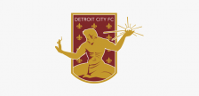Detroit City FC soccer club logo. Photo from Detroit City FC official website.