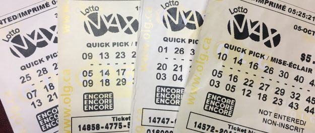 Lotto Max tickets. Photo by Scott Kitching.
