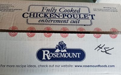 BlackburnNews.com - Recall issued for chicken meat over listeria concerns