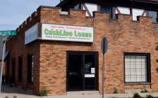 Cashline Sarnia at 286 Christina St N. September 27, 2019. (BlackburnNews photo)