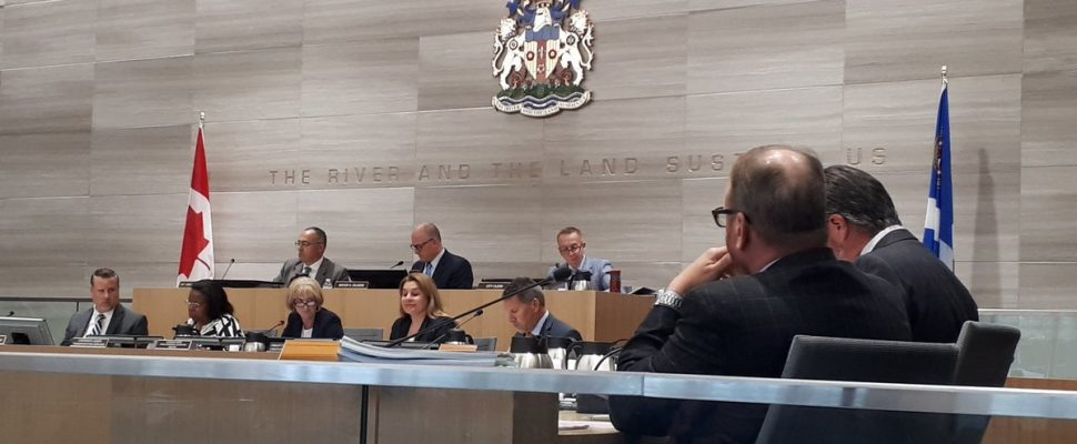 Windsor City Council during a regular meeting, September 23, 2019. (Photo by Mark Brown)