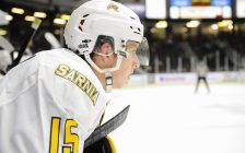 Calvin Martin of the Sarnia Sting (Photo courtesy of Metcalfe Photography)