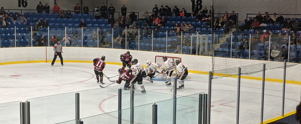 Chatham Maroons take on the Sarnia Legionnaires, September 12, 2019. (Photo by Josh Boyce)