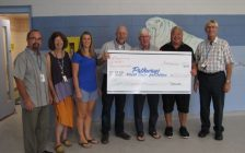 $200,000 cheque presented to Pathways by Catherine Wilson Foundation Sept. 24, 2019 (Submitted photo)