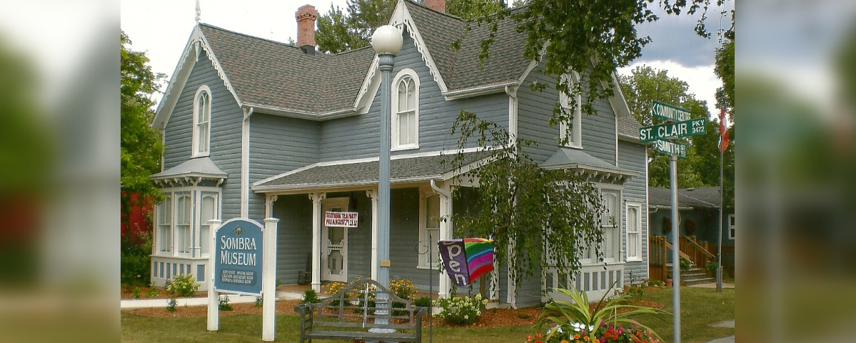 Sombra Museum at 3470 St Clair Pkwy. (Photo by St . Clair Township)