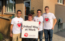 The annual Day of Caring put on by United Way of Sarnia-Lambton. September 10, 2019. (Photo by United Way)