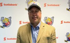 Former Windsor Spitfires general manager Warren Rychel is announced as the new head coach of the OHL's Barrie Colts, September 9, 2019. Photo courtesy of Barrie Colts.