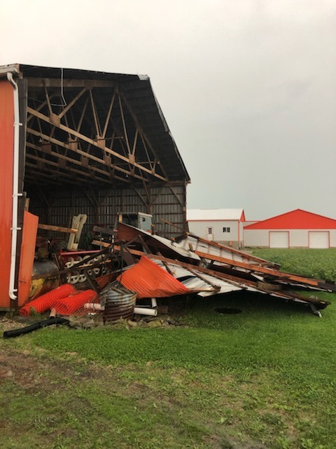 Damaged Barn