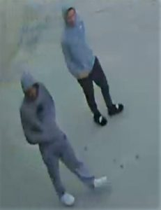 Two men who allegedly took part in a fatal stabbing on October 19, 2019. Photo provided by Windsor Police Service.