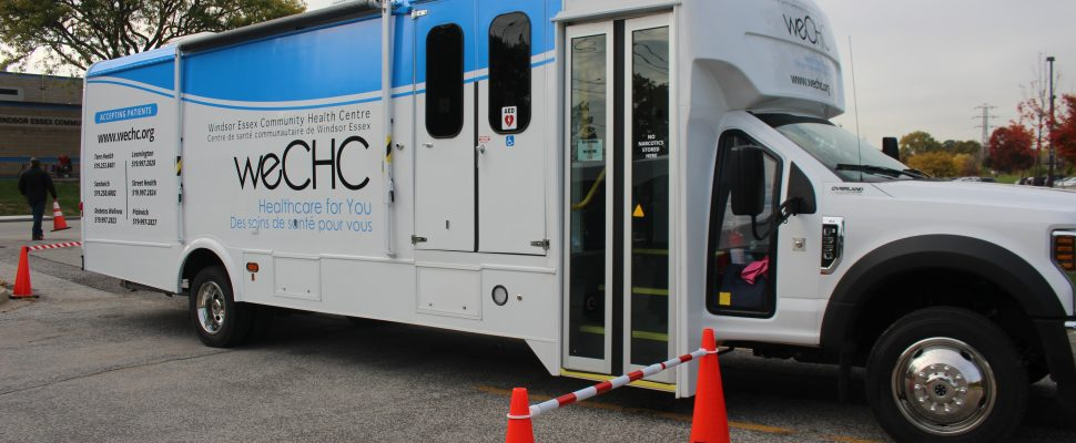 The Windsor Essex Community Health Centre on Wheels, October 24, 2019. (Photo by Maureen Revait)