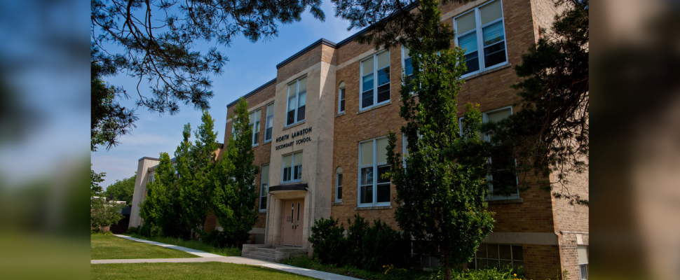 North Lambton Secondary School in Forest. (Photo by Lambton Kent District School Board)