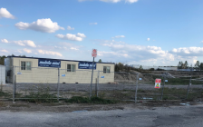 The site of a new Holiday Inn in Adelaide-Metcalfe near Strathroy. October 8, 2019. (BlackburnNews.com photo by Melanie Irwin)