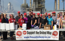 NOVA Chemicals supporting the United Way of Sarnia-Lambton in the fall of 2018. (Photo from facebook)