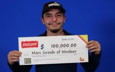 (Photo of Marc Groulx courtesy of the Ontario Lottery and Gaming Corporation)