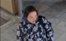 Photo of a woman wanted in connection with an arson investigation. Photo supplied by London