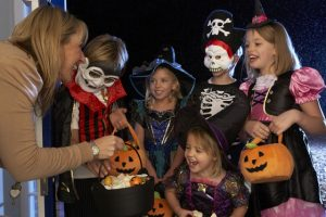 Kids trick-or-treating on Halloween. File photo courtesy of © Can Stock Photo / monkeybusiness