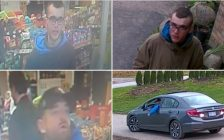 Thamesford theft suspects. (photos courtesy of OPP West via Twitter)