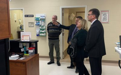 Dignitaries tour Chesley Hospital upgrades - BlackburnNews.com