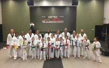 Competitiors from Bluewater Taekwondo in Chatham punched and kicked their way to a silver and two bronze medals at a major competition in Toronto. Nov 12, 2019. (Photo courtesy of Bluewater Taekwondo)