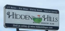 The new Hidden Hills Golf and Country Club clubhouse is closed for renovations but the pro shop remains open. Nov 20, 2019. (Photo courtesy of Hidden Hills)