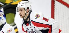 (Connor Corcoran of the Windsor Spitfires. Photo courtesy of Luke Durda via OHL Images)