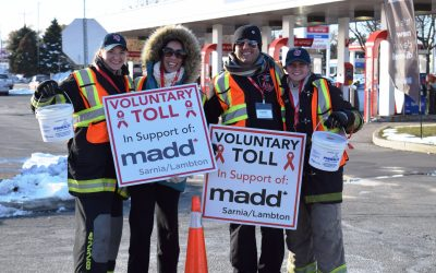 Sarnia-Lambton MADD Voluntary Toll campaign sets record - BlackburnNews.com