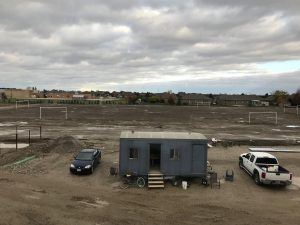 Soccer fields at new St. Angela Merici elementary school to be ready by May. Nov 1, 2019. (Photo by Paul Pedro)