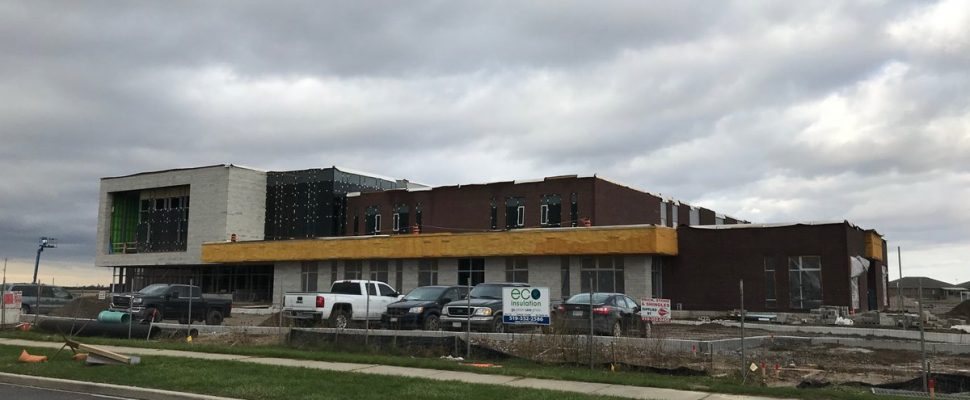 New St. Angela Merici elementary school to be ready by May. Nov 1, 2019. (Photo by Paul Pedro)